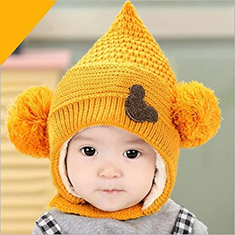 51bcca80ffb Buy Generic red   2017 new children bomber hat with ears kids warm hat  winter beanie baby boy face cap girls hats ear protection baby accessories  Online at ...