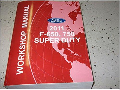 2011 Ford F-650 F650 F750 TRUCK Service Shop Repair Manual OEM DEALERSHIP BOOK