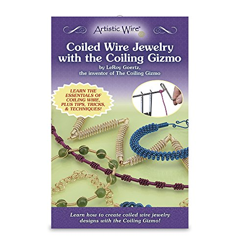 Artistic Wire Coiled Jewelry with The Coiling Gizmo