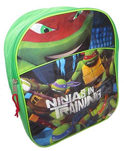 Zaino verde TMNT Teenage Mutant Ninja Turtles per bambini
