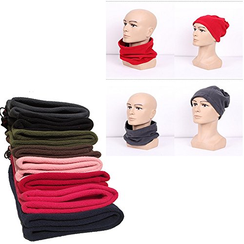 SBParts Multifunctional Outdoor Warm Unisex Fleece Sports Neckwear Winter Snood Scarf Ski Wear by SBParts (Image #1)