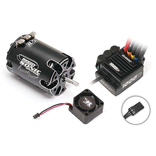 (Team Associated 258C Blackbox 1000Z+ Brushless ESC and Sonic 540-M3 8.5 Motor Combo RC)