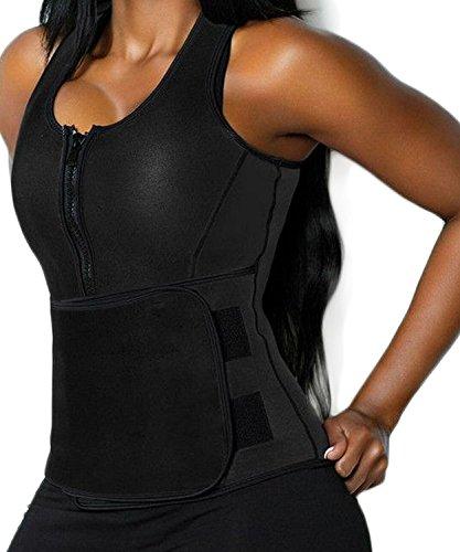 85797ca9829 Twinkle Pinkel Women Neoprene Hot Sweat Sauna Suit Waist Trainer Vest  Adjustable Waist Trimmer Belt Weight Loss Tank Top - Buy Online in Oman.