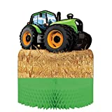 Tractor Time Party Centerpiece