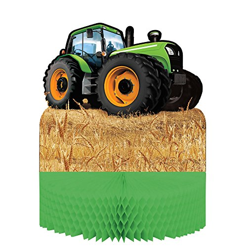 Tractor Time Centerpiece - Party Supplies (Supply Tractor)