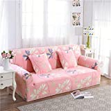 RUGAI-UE Sofa Slipcover sofa cover tight fitted elastic gasket cover three upholstered sofa full four living room,Four seater sofa 235-300cm,Lovable Times