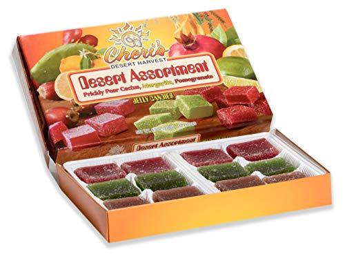 - Desert Assortment Jelly Candies - Prickly Pear Cactus - Margarita, Pomegranate- Margarita - Tastes Great