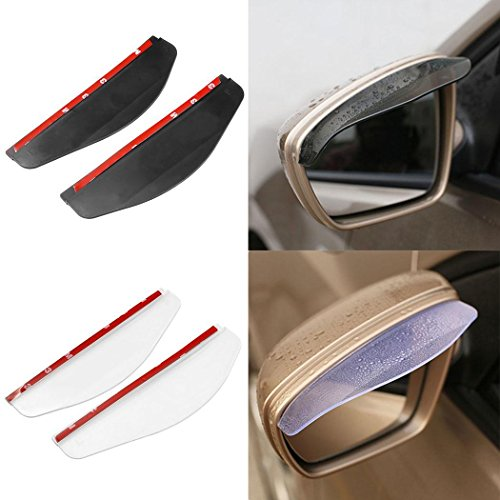 2PCS Car Rearview Mirror Rain Water Ey...