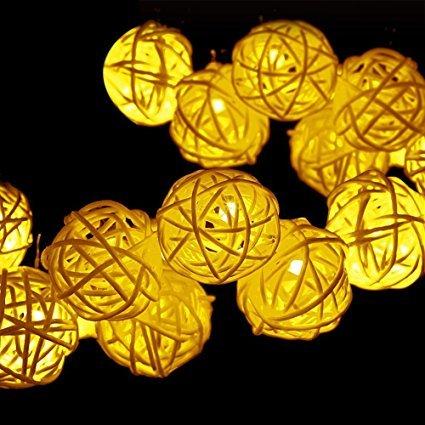 Dreamers Solar String Lights, 30LED 20ft Solar ...