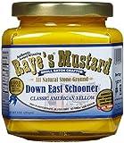 Raye's Down East Schooner Smooth Yellow Mustard - 9 Ounces