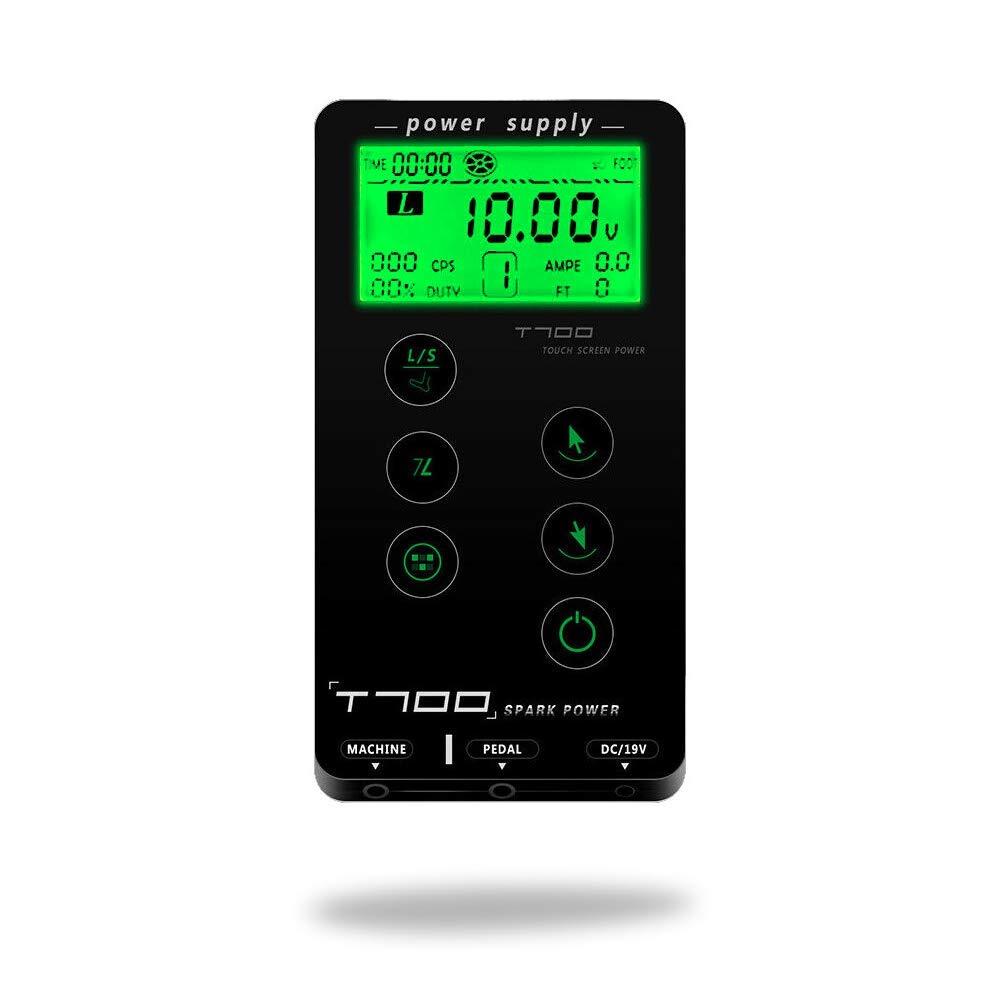 Dragon Art T-700 Ultra Slim Digital Tattoo Power Supply w/Touch Controls & Smart Memory