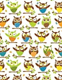 "Owl Gift Wrap Paper ""Its a Hoot"""