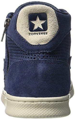 Converse Zapatillas abotinadas Pro Lea Lp Mid Suede Zip Perf Azul Marino EU 38 (US 5.5)