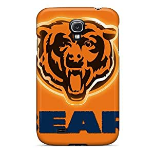 Elaney Case Cover For Galaxy S4 - Retailer Packaging Chicago Bears Protective Case