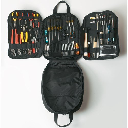 Jensen Tools - JTK-87B - Kit in Backpack Case, black