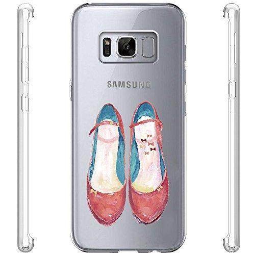 Funda Galaxy S8+,Vanki® Carcasa Cubierta TPU Silicona Goma Suave Case Protection y Premium Clarity Cover Ultra Fino Anti-Arañazos para Samsung Galaxy S8 Plus 6