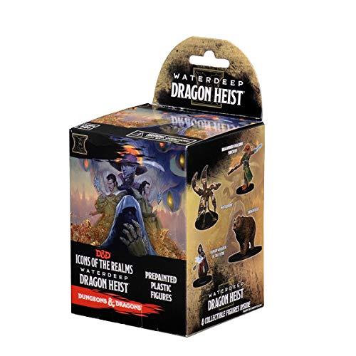 WizKids D&D Icons of the Realms: Waterdeep Dragon Heist (8 Ct. Standard), Booster Brick