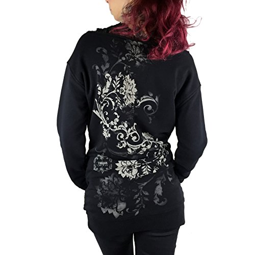 Yakuza - Sweat-shirt - Sweatshirt - Femme noir Schwarz Small