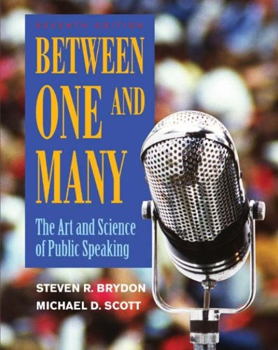Between One and Many: The Art and Science of Public Speaking Pdf
