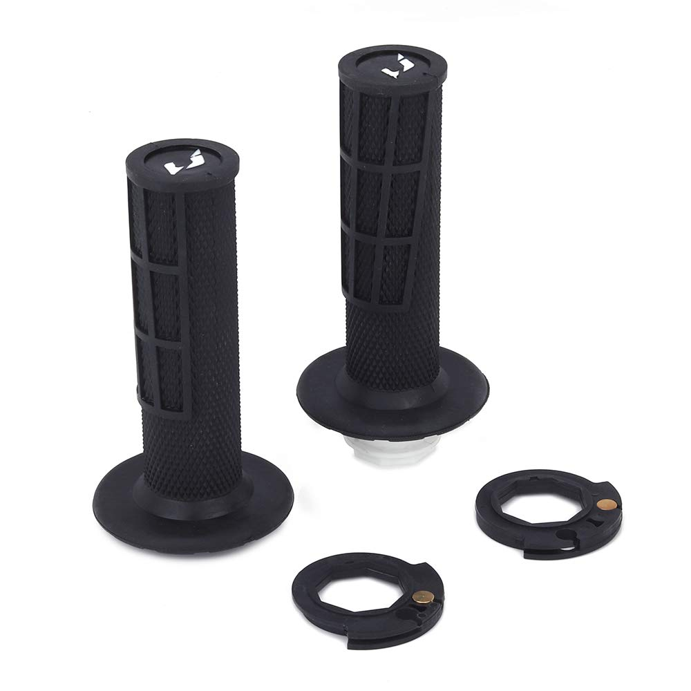 An Xin Motorcycle Black Rubber Plastic Hand Handlebar Grips For KTM SXF XCF SX XCW EXCF FC FX FX FS TC TE TX 125 150 250 300 350 450 500