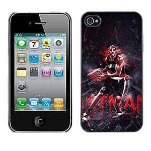 BasketCase Nicolas Batum Batman Basketball Apple Iphone 6 4.7 / 6 4.7S / / Slim 360 Protection Case Cover PC / Aluminium Protector Shell Rugged