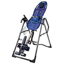 Teeter EP-960 Ltd Inversion Table with Back Pain Relief Kit, Blue