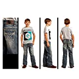 Rock & Roll Cowboy Boys' and Large V Jeans Regular Fit Denim 10