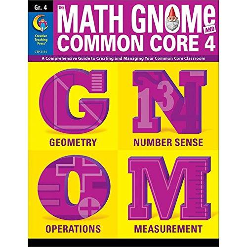 3rd Grd Math Gnome & Common Core Four