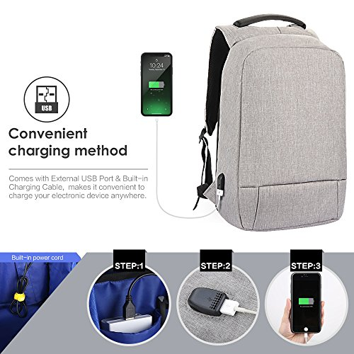 33f3710d9109 Mua sản phẩm Laptop Backpack, Slim Business Computer Backpack with ...