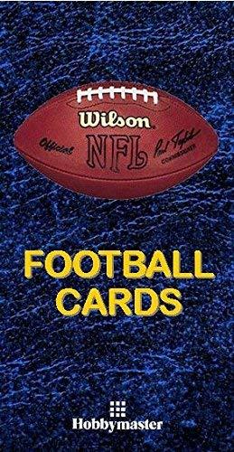 Football Design Hobbymaster Football Card Collector Album Binder Navy Blue