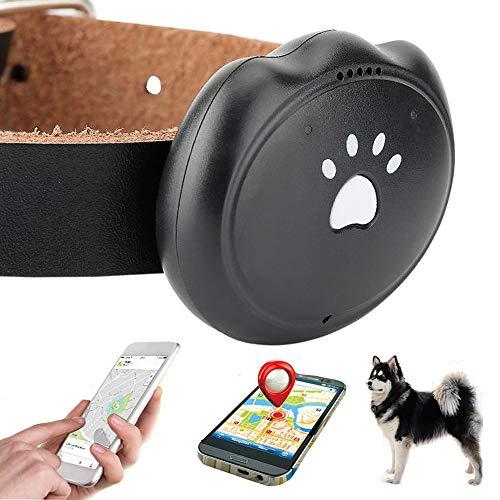 Jason Zeng Pet GPS Satellite Tracker & Activity Monitor Intelligent 5-Level Positioning System, No Subscription Fee IP67 Depth Waterproof Dog & Rare Animal Searcher Locator Trajectory Tracking Alarm from Jason Zeng