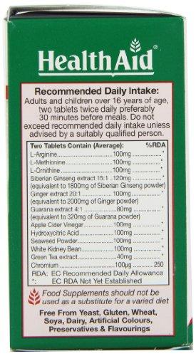 HealthAid SiberSlim - 60 Tablets (Ginseng Complex)