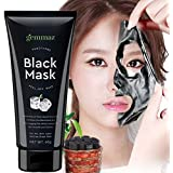 Black Mask Peel off Mask- Activated Charcoal Blackhead Remover Mask Purifying Deep Cleansing Facial Black Mask, Deep Pore Cleanse for Acne, Oil Control