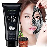 Face Mask You Can Peel Off - Black Mask Peel off Mask- Activated Charcoal Blackhead Remover Mask Purifying Deep Cleansing Facial Black Mask, Deep Pore Cleanse for Acne, Oil Control