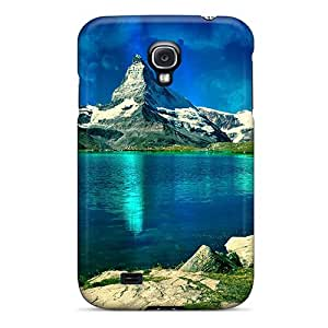 Flower's Town DRt637tAhp Case Cover Galaxy S4 Protective Case Lake