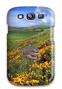Quality Patricia Kelly Case Cover With Earth Landscape Nice Appearance Compatible With Galaxy S3