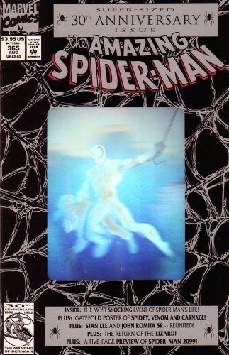 The Amazing Spider-Man #365 Super Sized Hologram Cover 30th Anniversary Issue
