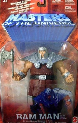 (Masters of the Universe Ram Man - Silver Shoulder Pads)