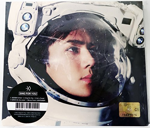 EXO - Sing For You (Winter Special) [Korean SEHUN Ver.] CD + Photo booklet+Photocard+Random Folded Poster(A3 size)+EXO Postcard+Sticker+Extra Photocard Gift