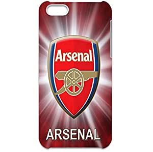 Arsenal Football Club Logo 3D Plastic Shell Accessory Fantasy Durable Hard Cover Case Back Skin for Iphone 5c