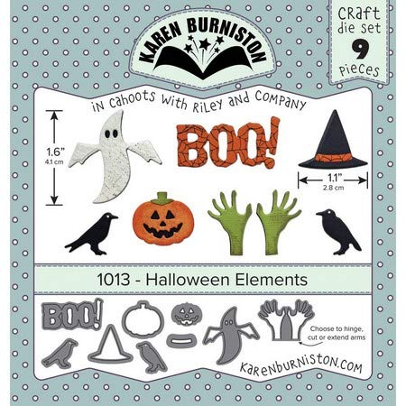 Karen Burniston - Dies - Halloween Elements ()