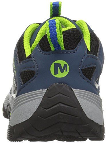Waterproof Merrell Kid Kid Navy Little Sneaker Big Blue Low Moab Fst 1RRFx