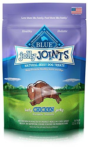 BLUE Jolly Joints Chicken Jerky Dog Treats (Chicken Dog Vitamins)