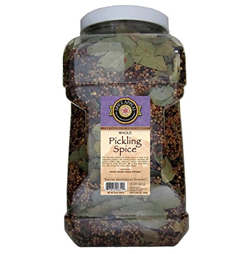 - Spice Appeal Pickling Spice whole, 3.5 lbs