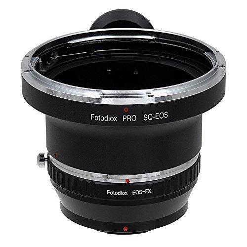 Fotodiox Pro Lens Mount Adapter - Bronica SQ Mount SLR Lens to Fujifilm X-Series Mirrorless Camera Body [並行輸入品]   B075SG49J3