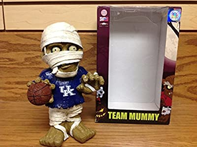 UK University of Kentucky Wildcats MUMMY Wrapped Zombie Action Figure BASKETBALL