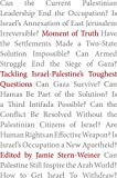 "Jamie Stern-Weiner, ""Moment of Truth: Tackling Israel-Palestine's Toughest Questions"" (OR Books, 2018)"