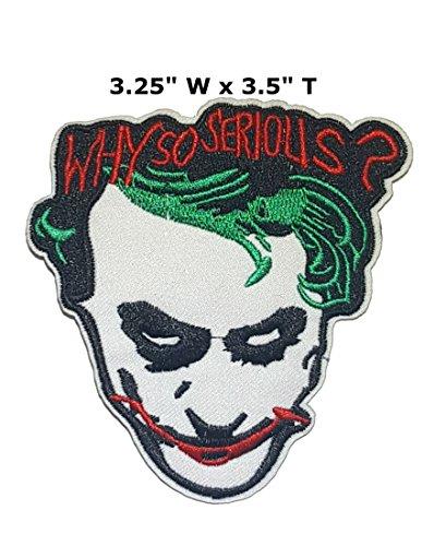 Joker Heath Ledger Why So Serious - 3.25
