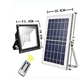 JIN Solar Flood Light Home Led Garden Lights Outdoor Lawn Integrated Solar Street Light , 100led 50w