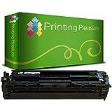Printing Pleasure Toner Compatibile 201A per HP Laserjet Pro MFP M277DW, MFP M277N, MFP M274N, M252DW, M252N - Nero, Alta Resa